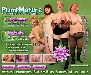 Plump mature women wait for You